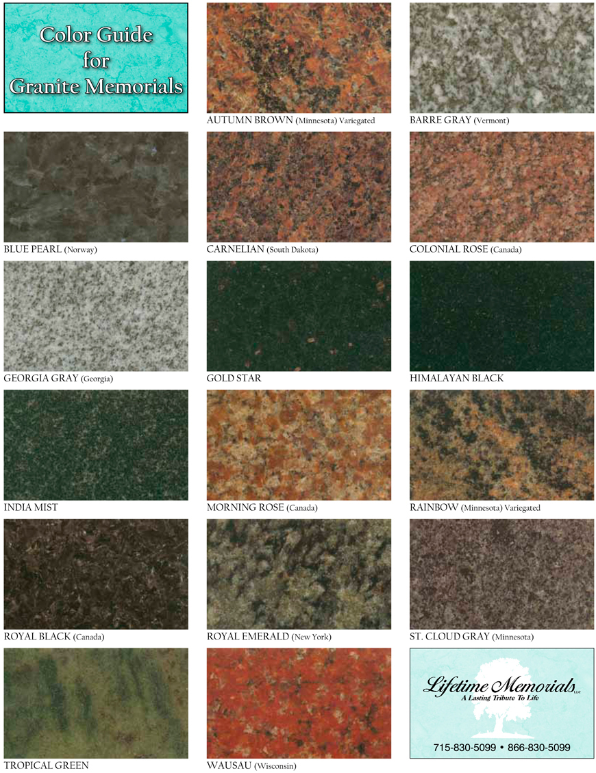 Granite Colors  Lifetime Memorials Llc. Moroccan Living Room Wallpaper. Living Room Wallpaper Cheap. Vintage Living Room Tables. Silver Couch Living Room. Indian Living Room Designs Photos. Living Room Combined Dining Room Decoration. How To Decorate Your Living Room With A Fireplace. Living Room Wall Lighting Ideas